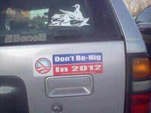 Don't Re-Nig in 2012