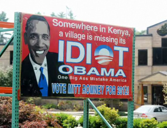 Somewhere in Kenya, a village is missing it's idiot.