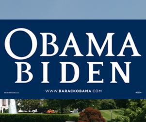 Cassy Zobel's Obama-Biden Sign