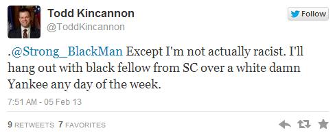 Todd Kincannon hates yankees too.