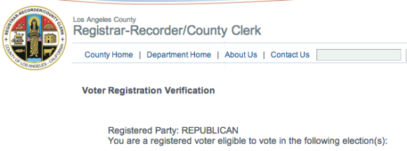 Donald Sterling - Registered Republican